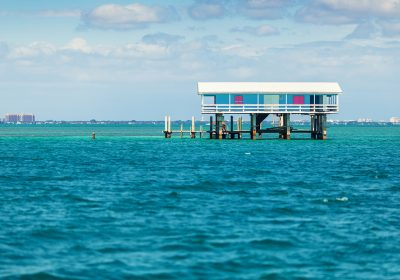 Stilt house in biscayne park, miami